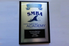 SMBA full sublimation plaque