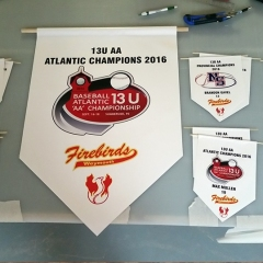 Minor Baseball championship banners - Designed by Digby Print & Promo