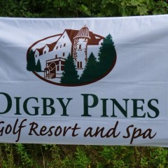 Custom flag for Digby Pines