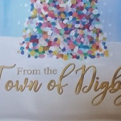 Town of Digby seasonal street banner - Designed by Digby Print & Promo