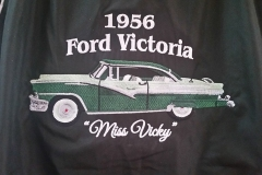 Embroidered car - Designed by Digby Print & Promo