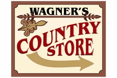 Wagners Country Store sign