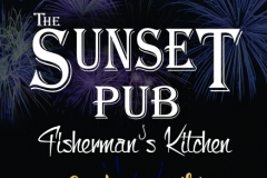 Sunset Pub 50th anniversary poster