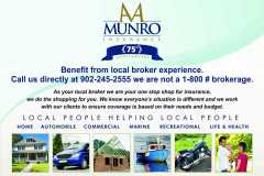 AA Munro flyer for colour print