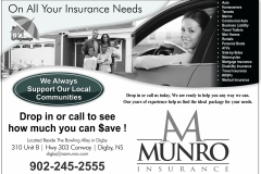 AA Munro flyer in for black and white print
