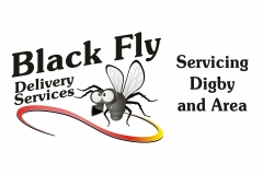 Black Fly Delivery logo