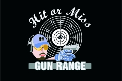 Hit or Miss Gun Range logo