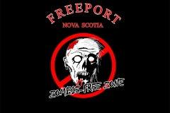Me to We Freeport Zombie design for shirts