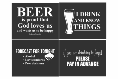 Old Town Pub designs for back of shirts