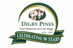 Digby Pines logo with 90th anniversary