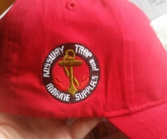 Embroidered on side of hat - Designed by Digby Print & Promo