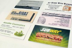 Business card samples - Designed by Digby Print & Promo