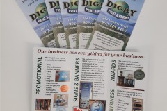 Digby Print and Promo 3 fold brochure - Designed by Digby Print & Promo