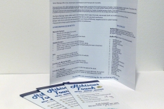 3 fold brochure - Designed by Digby Print & Promo