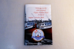 Scallop Days advertising booklet - Designed by Digby Print & Promo