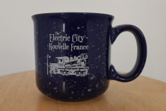 Campfire mug for The Electric City