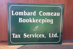 Aluminum sign - Designed by Digby Print & Promo