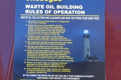 Harbour Authority signs