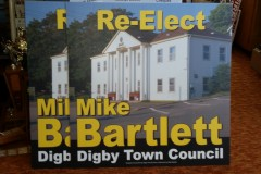 Coroplast election signs - Designed by Digby Print & Promo