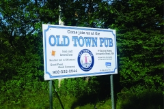 Old Town Pub sign - Designed by Digby Print & Promo
