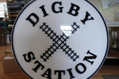 Digby Station komacell sign