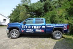 The Trap Shop truck vinyl - Designed by Digby Print & Promo